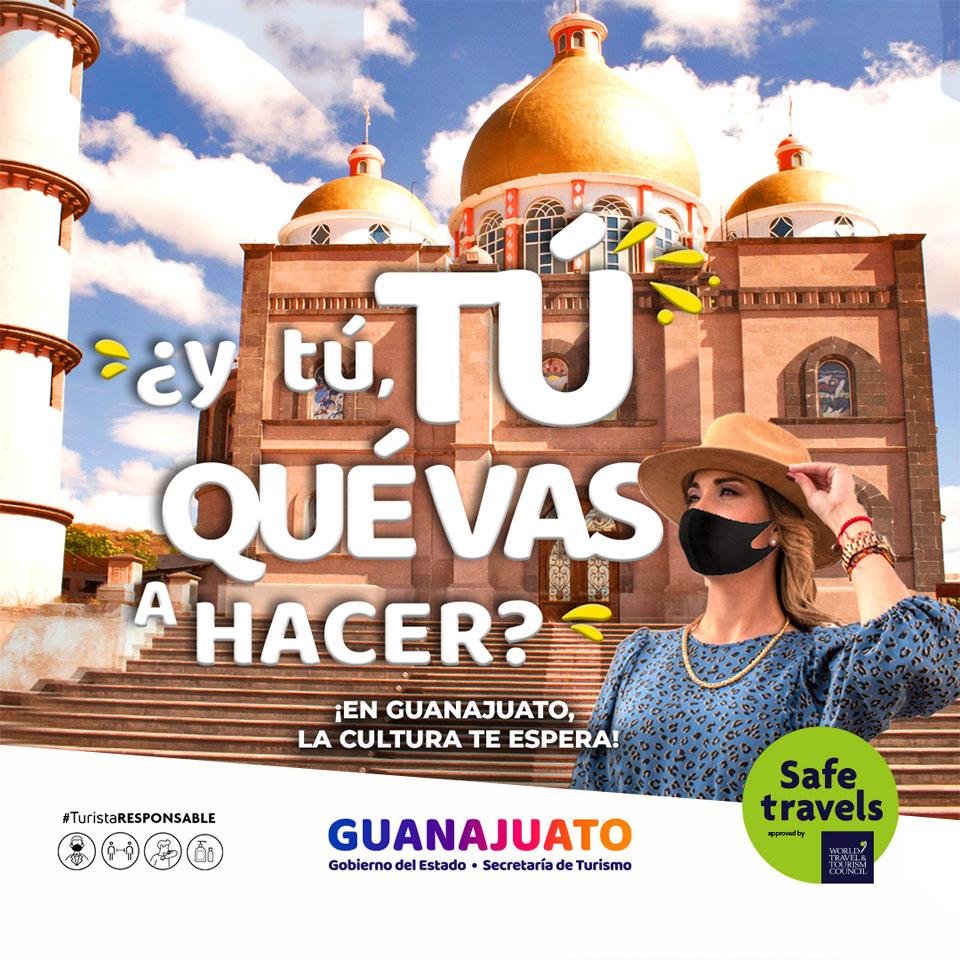 ¿y tú, TÚ QUÉ VAS A HACER? ¡Vamos a conocer la Cultura de Guanajuato!